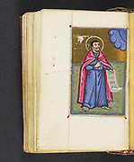16th century Armenian Liturgical psalter and perpetual calendar. The manuscript includes ten full-page illuminations of Biblical figures and illuminated headpieces at the beginning of the eight canons of the the Psalter. printed in 1500