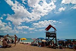 Salento - Puglia - Marina di Pescoluse - Bagnanti