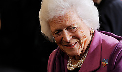Former First Lady Barbara Bush attends the 2010 Medal of Freedom in a ceremony of the East Room  February 15, 2011  at the White House in Washington, DC. <br /> Photo by Olivier Douliery/ABACAPRESS.COM  | 263823_010 Washington Etats-Unis United States
