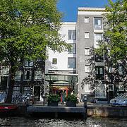 NLD/Amsterdam/20120812 - Varen door de Amsterdamse grachten. Pulitzer hotel