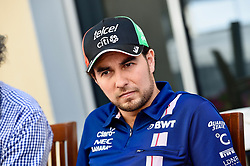 November 24, 2017 - Yas Marina Circuit, Abu Dhabi - Sergio Perez, Sahara Force India F1, formula 1 GP, Abu Dhabi, Yas Marina Circuit, VAE, 24.11.2017.Photo:mspb/Jerry Andre.Credit: Melzer/face to face (Credit Image: © face to face via ZUMA Press)
