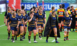 Worcester Valkyries show looks of dejection after the final whistle - Mandatory by-line: Nizaam Jones/JMP - 22/09/2018 - RUGBY - Sixways Stadium - Worcester, England - Worcester Valkyries v Richmond Women - Tyrrells Premier 15s