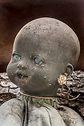 Enter Mexico's haunted 'Island of the Dolls' if you dare: Thousands of creepy toys hang from the trees to quell the tormented screams of a ghost of a little girl who drowned there<br /> <br /> Hundreds of photographers and thrill-seekers travel to the haunted Island of the Dolls every year, but it was never meant to be a tourist attraction. After a two-hour canal ride from Mexico City, they arrive at a nightmarish clearing deep in the woods where thousands of mutilated dolls hang from the trees and hide among the dense branches.<br /> They were put there by a reclusive Mexican man who believed they would appease the troubled ghost of a small girl who died there over 50 years ago - and still haunts the woods today.<br /> Julian Santana Barrera retreated to the woods soon after she drowned in the nearby canal. He claimed he could hear her tormented screams and footsteps in the darkness.<br /> Even today - 14 years after his own mysterious death in those woods - visitors say they hear whispers in the night and feel the dolls' eyes following them through the trees.<br /> <br /> Barrera found the girl's corpse floating in the canal and blamed himself for not being able to save her life, according to the so-calledIsla de las Munecas' official website.<br /> He later discovered a doll floating in the same waters and, assuming it belonged to the deceased girl, hung it from a tree as a sign of respect.His descent into madness began with this seemingly innocent act.<br /> Barrera began to hear whispers, footsteps and the anguished wails of a woman in the darkness even though his hut - hidden deep inside the woods of Xochimilco - was miles away from civilisation.<br /> Driven by fear, he hung the dismembered toys from the trees to protect himself from her ghost and spent the next 50 years 'decorating' the woods in a desperate attempt to appease her.<br /> He hung hundreds of toys - some missing body parts - from the trees and the wire fencing which surrounded his wooden shack.