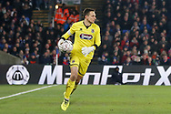 Grimsby Town goalkeeper James McKeown (1) during The FA Cup 3rd round match between Crystal Palace and Grimsby Town FC at Selhurst Park, London, England on 5 January 2019.