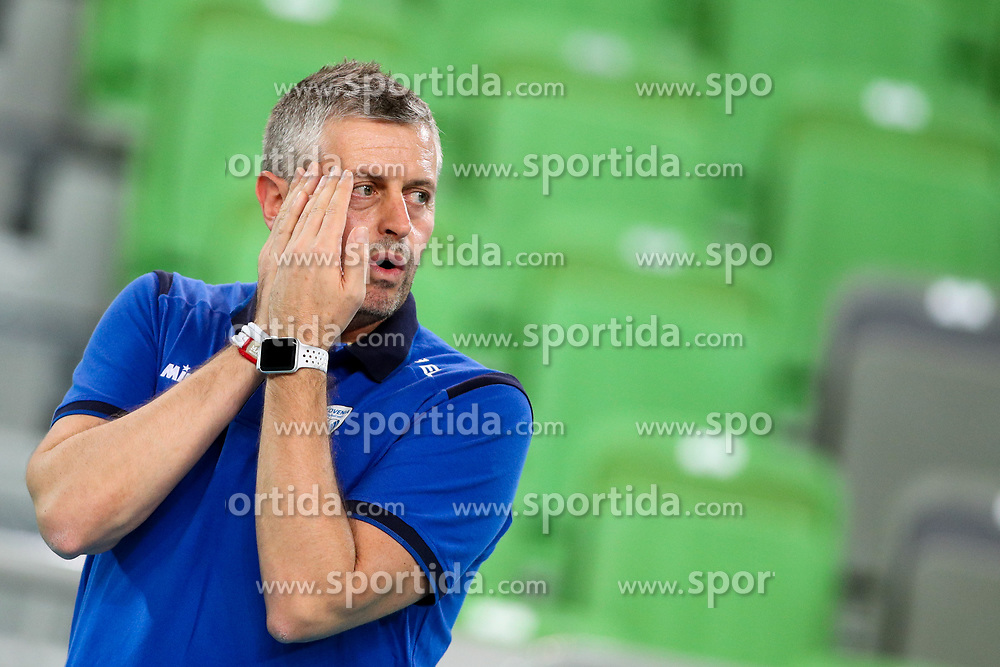 Alessandro Chiappini, head coach of Slovenia during the volleyball match between National team of Slovenia and Dominican Republic in Preliminary Round of Womens U23 World Championship 2017, on September 11, 2017 in SRC Stozice, Ljubljana, Slovenia. Photo by Morgan Kristan / Sportida