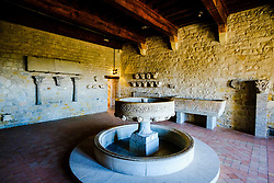 A view in the museum in the Chateau Comtal in the medieval Cité de Carcassonne, France<br /> <br /> (c) Andrew Wilson   Edinburgh Elite media