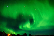 Northern lights or aurora borealis <br /> Matlock<br /> Manitoba<br /> Canada