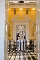 Statue of George Washington, Rotunda of the Virginia State Capitol, Richmond, Virginia USA