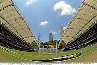 31 May 2013; A general view of Hong Kong Stadium ahead of the British & Irish Lions opening match of their tour against Barbarians on Saturday. British & Irish Lions Tour 2013, Kickers Practice, Hong Kong Stadium, So Kon Po, Causeway Bay, Hong Kong, China. Picture credit: Stephen McCarthy / SPORTSFILE