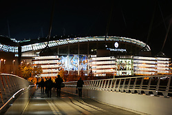 A general view of the Etihad Stadium - Mandatory by-line: Matt McNulty/JMP - 01/11/2016 - FOOTBALL - Etihad Stadium - Manchester, England - Manchester City v FC Barcelona - UEFA Champions League Group C
