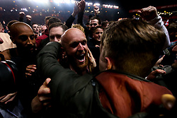Jonathan Williams of Charlton Athletic celebrates with fans after beating Doncaster Rovers on penalties in the Sky Bet League One Playoff Semi Final - Mandatory by-line: Robbie Stephenson/JMP - 17/05/2019 - FOOTBALL - The Valley - Charlton, London, England - Charlton Athletic v Doncaster Rovers - Sky Bet League One Play-off Semi-Final 2nd Leg