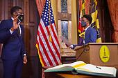 March 31, 2021 (MD): Administrator Christopher Shorter Sworn In By Baltimore Mayor Brandon Scott