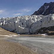 Suess Glacier and Lake Hoare, Dry Valley's, Antarctica