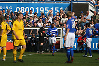 Photo: Pete Lorence.<br />Macclesfield Town v Notts County. Coca Cola League 2. 05/05/2007.<br />Paul Ince joins the pitch.