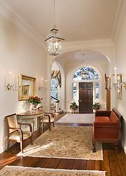 Hallway foyer entrance archway
