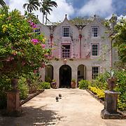 St Nicholas Abbey Sugar Cane Plantation and Rum Distillery in Saint Peter, Barbados