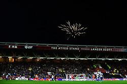 Fireworks above the Atyeo stand sponsored by Lancer Scott - Mandatory by-line: Dougie Allward/JMP - 05/11/2016 - FOOTBALL - Ashton Gate - Bristol, England - Bristol City v Brighton and Hove Albion - Sky Bet Championship