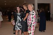 KATHRYN GREIG; DONELLA TARANTELLI; DORA LOEWENSTEIN, Masterpiece Midsummer Party in aid of CLIC Sargent. Masterpiece London. The Royal Hospital, Royal Hospital Road, London, SW3. 3 July 2012.