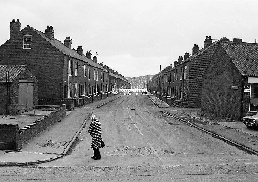 Housing, South Kirkby, South Yorkshire UK 1986