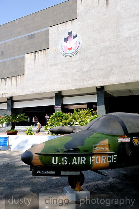 US aircraft at the War Remnants Museum, Ho Chi Minh City (Saigon), Vietnam