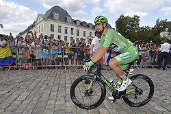 July 28, 2019, Paris, France: Slovakian Peter Sagan of Bora-Hansgrohe wearing the green jersey pictured ahead of the final stage of the 106th edition of the Tour de France cycling race, from Rambouillet to Paris Champs-Elysees (128km), France, Sunday 28 July 2019. This year's Tour de France starts in Brussels and takes place from July 6th to July 28th. (Credit Image: © Yorick Jansens/Belga via ZUMA Press)