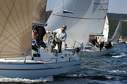 The Clyde Cruising Club's Scottish Series held on Loch Fyne by Tarbert. Day 2 racing in a perfect southerly..3841C, Ubiquity, Henry Reid, Fairlie Yacht Club, Moody 36