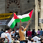 Palestinian protest at Istanbul, Turkey