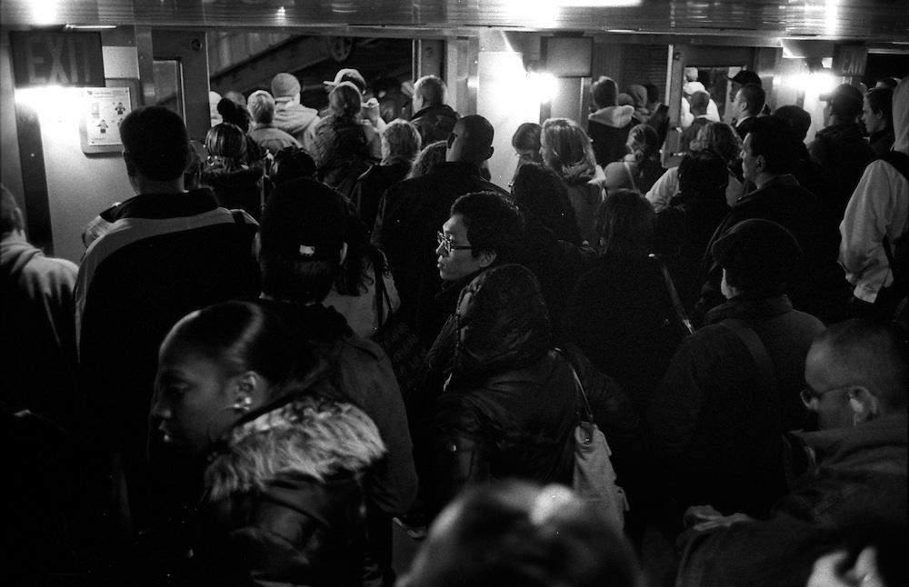 """Waiting to disembark the Staten Island Ferry in Manhattan...""""I See A Darkness"""" - Oct and Nov 2007..."""