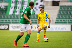 Jure Balkovec of NK Domzale during 2nd leg match of 1st Round Qualifications for European League between FC Flora and NK Domzale, on July 7, 2017 on Le Coq Arena, Tallinn, Estonia. Photo by Ziga Zupan / Sportida