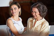 062315 Queen Letizia and Queen Sofia Attend 2015 UNICEF Awards