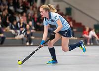 HAMBURG  (Ger) - Match 20,  for FINAL, LMHC Laren - Dinamo Elektrostal (Rus)  Photo: Elin van Erk (Laren)Eurohockey Indoor Club Cup 2019 Women . WORLDSPORTPICS COPYRIGHT  KOEN SUYK