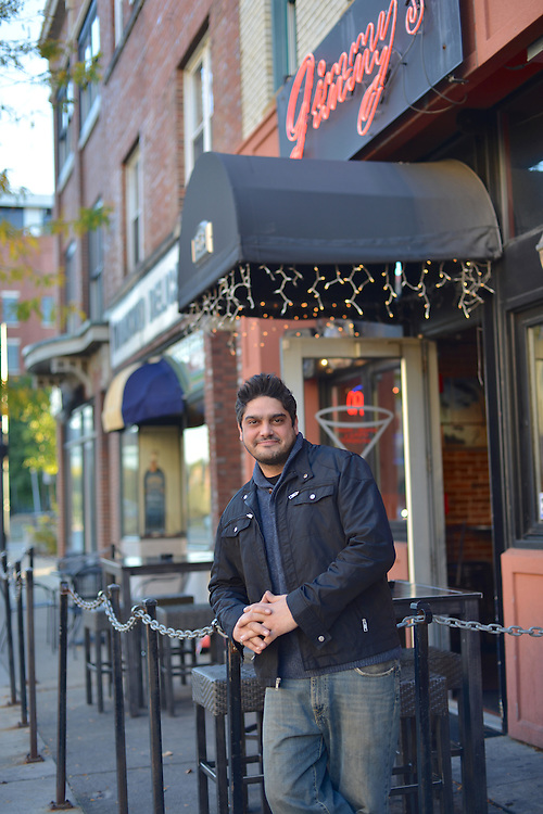 Jimmy Salaheddine, owner of Jimmy's Downtown.