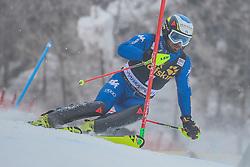 Manfred Moelgg (ITA) during 1st run of Men's Slalom race of FIS Alpine Ski World Cup 57th Vitranc Cup 2018, on March 4, 2018 in Kranjska Gora, Slovenia. Photo by Ziga Zupan / Sportida