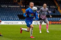 Elliot Newby. Stockport County FC 4-0 Wealdstone FC. Vanarama National League. Edgeley Park. 3.5.21