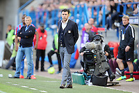 Hubert FOURNIER - 09.05.2015 -  Caen / Lyon  - 36eme journee de Ligue 1<br />