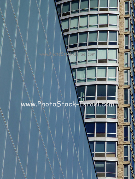 Abstract Architecture in Midtown New York City, NY, USA