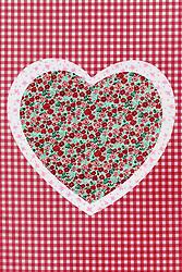 Aug. 22, 2012 - Patchwork heart (Credit Image: © Image Source/ZUMAPRESS.com)