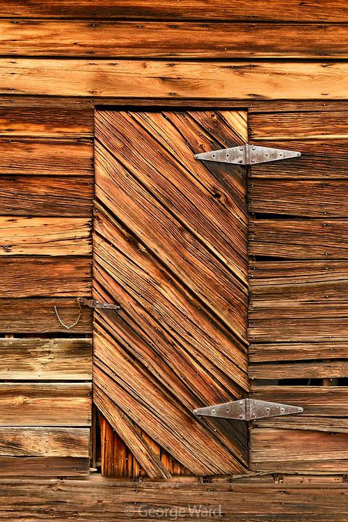 Old Barn Door, San Benito County, California