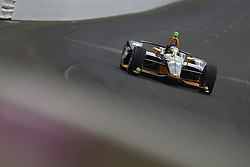May 18, 2018 - Indianapolis, Indiana, United States of America - SAGE KARAM (24) of the United States brings his car down the frontstretch during ''Fast Friday'' practice for the Indianapolis 500 at the Indianapolis Motor Speedway in Indianapolis, Indiana. (Credit Image: © Chris Owens Asp Inc/ASP via ZUMA Wire)