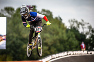 #971 (VALENTINO Manon) FRA Sunn 100% Kenny at Round 7 of the 2019 UCI BMX Supercross World Cup in Rock Hill, USA