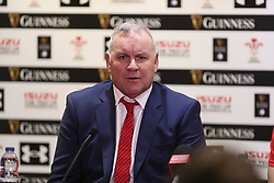 February 1, 2020, Cardiff (Wales, Italy: wayne pivac head coach of galles durante the Press Conference during Wales vs Italy, Six Nations Rugby in Cardiff (Wales), Italy, February 01 2020 (Credit Image: © Massimiliano Carnabuci/IPA via ZUMA Press)