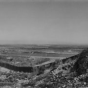 A section of the old U.S. border fence separating Imperial Beach, California seen from the western edge of Tijuana, Mexico with a newer taller second U.S. border fence in the background..(Credit Image: © Louie Palu/ZUMA Press).July 2012