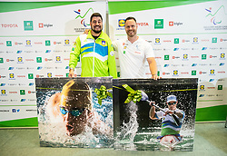 Press conference of Darko Duric and Dejan Fabcic, Slovenian Paralympic athletes after decision of ending their career, on June 3, 2020 in Faculty of Sport, Ljubljana, Slovenia. Photo by Vid Ponikvar / Sportida
