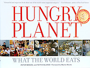 Hungry Planet: What the World Eats, 2006 James Beard Award winner for best book.