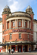 New Theatre, Park Place, Cardiff, South Wales, UK Edwardian Baroque architecture, 1906 architects Runtz and Ford