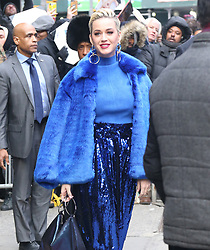 The 'America Idol' judges at 'Good Morning America' in New York. 27 Feb 2019 Pictured: Katy Perry. Photo credit: MEGA TheMegaAgency.com +1 888 505 6342