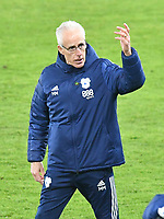 Football - 2020 / 2021 Sky Bet Championship - Swansea City vs Cardiff City - Liberty Stadium<br /> <br /> Cardiff City manager Mick McCarthy on the touchline as his side heads to victory in the South Wales local derby match<br /> <br /> COLORSPORT/WINSTON BYNORTH