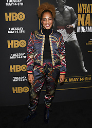 May 8, 2019 - Los Angeles, California, USA - 08, May 2019 - Pasadena, California. Amanda Seales attends 'What's My Name | Muhammad Ali' HBO Documentary Premiere at Regal Cinemas LA LIVE 14 in Los Angeles, California. (Credit Image: © Billy Bennight/ZUMA Wire)
