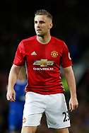 Luke Shaw of Manchester United during the English Premier League match at Old Trafford Stadium, Manchester. Picture date: April 4th 2017. Pic credit should read: Simon Bellis/Sportimage