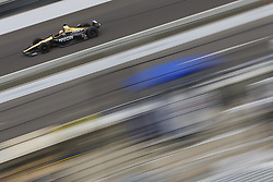 May 18, 2018 - Indianapolis, Indiana, United States of America - JAMES HINCHCLIFFE (5) of Canada brings his car down the frontstretch during ''Fast Friday'' practice for the Indianapolis 500 at the Indianapolis Motor Speedway in Indianapolis, Indiana. (Credit Image: © Chris Owens Asp Inc/ASP via ZUMA Wire)